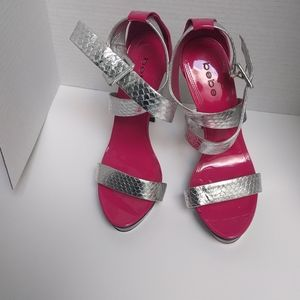 👠 High heels sandals by Bebe👠👠👠👠🍀🍀🍀